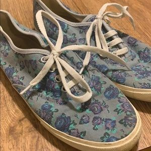 Women's Forever 21 Floral Sneakers